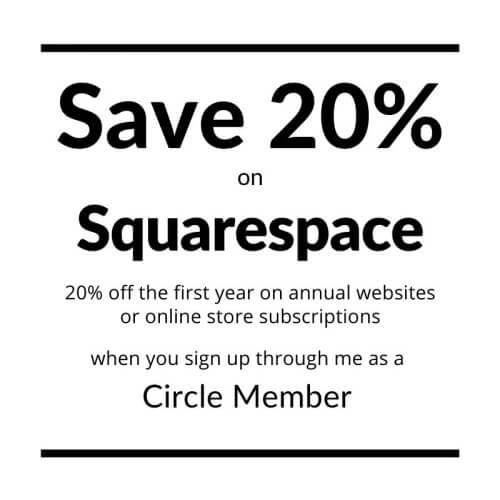 Squarespace 20% Discount